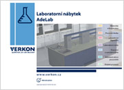 Katalog laboratorního nábytku AdeLab