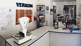 Verkon: Prodejna laboratorních potřeb Brno